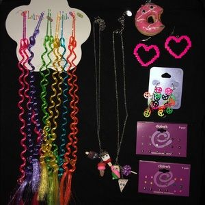 Girl's Lot of items From Claire's